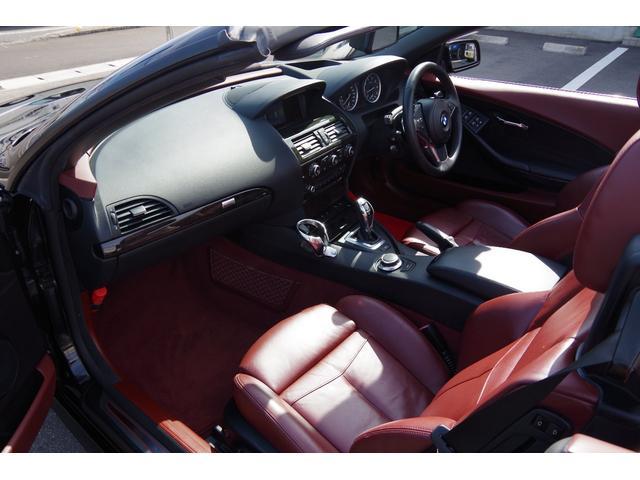 650iカブリオレ 電動オープン コーナーセンサー HID パドルシフト パワーシート 赤革シート シートヒーター 20インチアルミホイール クルーズコントロール オートライト ETC(24枚目)