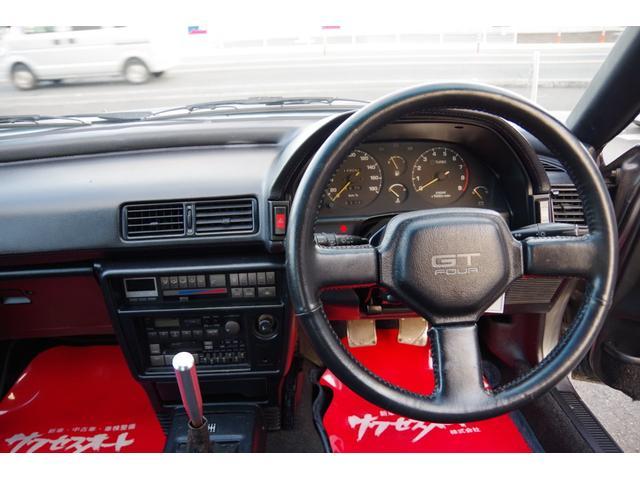 GT-FOUR GT-FOUR4WD ターボ 5速ミッション サンルーフ パワステ パワーウィンドウ R2年10月4日タイミングベルトウォーターポンプ交換済138,990km時 フロントストラットタワーバー(17枚目)