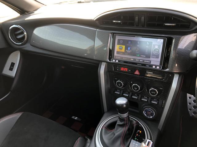 S 社外SDナビ 車内カーボン調パネル 社外HIDフォグ(6枚目)