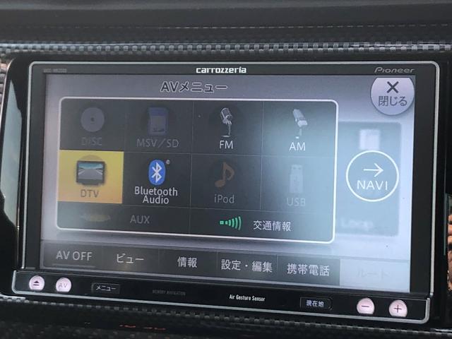 S 社外SDナビ 車内カーボン調パネル 社外HIDフォグ(7枚目)