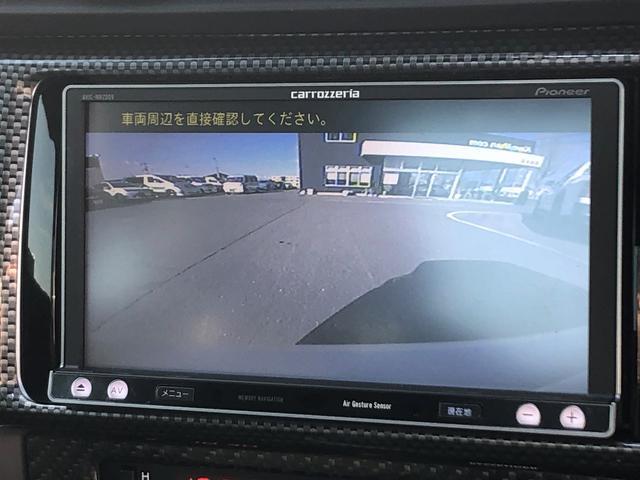 S 社外SDナビ 車内カーボン調パネル 社外HIDフォグ(8枚目)