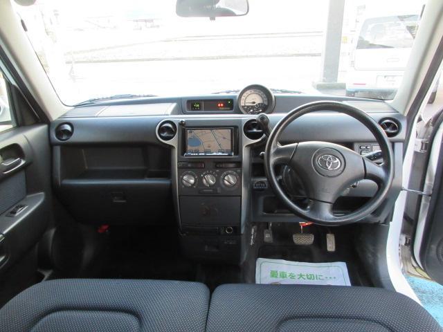 トヨタ bB S Wバージョン 社外HDDナビ
