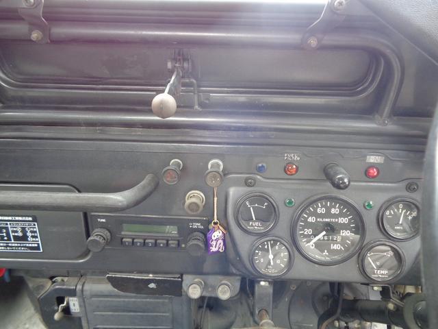 2700cc ディーゼル 4WD ウインチ付き(13枚目)