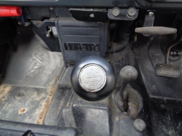 2700cc ディーゼル 4WD ウインチ付き(15枚目)