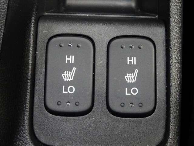 運転席助手席にシートヒーターが装備されています。