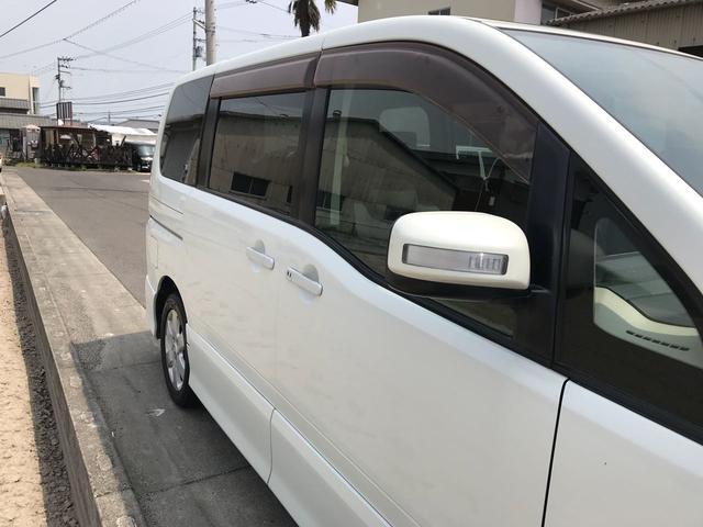 ハイウェイスター Wサンルーフ 左側電動ドア 純正ナビTV(10枚目)