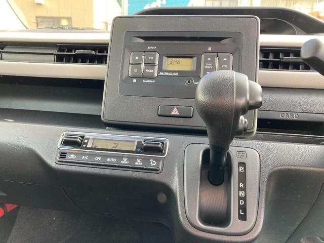 ハイブリッドFX アイドリングストップ シートヒーター キーレスエントリー 純正CDオーディオ(18枚目)