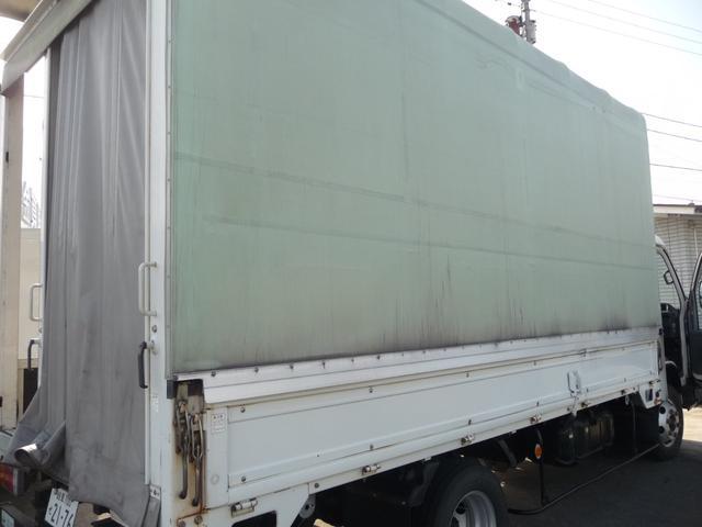 いすゞ エルフトラック エルフ2トンワイドロング幌ウイング電動式