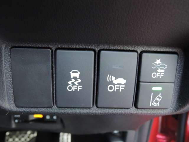 ホンダが推し進める総合先進安全装備のセンシング搭載! 衝突や斜線はみだしなどの危険が予測される時、センサーが警告。 ヒューマンエラーを高度先進技術が補完してくれます。
