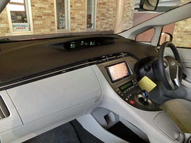 トヨタ プリウス S スマートキー ETC メモリーナビ バックカメラ