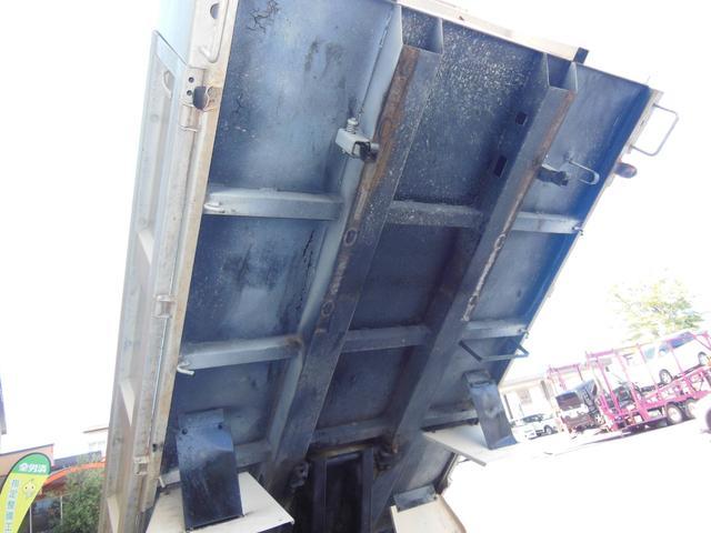 三菱 三菱 キャンター 5.2強化ダンプ全低床DXディーゼル 三方開
