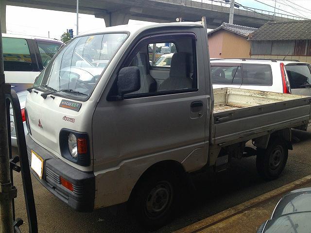 三菱 ミニキャブトラック 5速MT 4WD