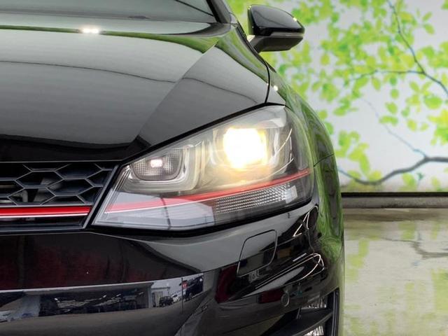 GTI 純正 HDDナビ/シート フルレザー/車線逸脱防止支援システム/パーキングアシスト バックガイド/ヘッドランプ HID/ETC/EBD付ABS/横滑り防止装置/アイドリングストップ 革シート 記録簿(17枚目)