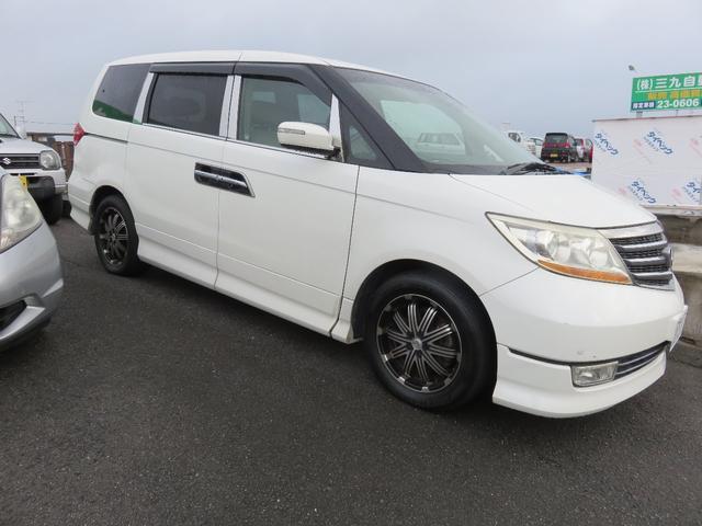 「ホンダ」「エリシオンプレステージ」「ミニバン・ワンボックス」「愛媛県」の中古車10