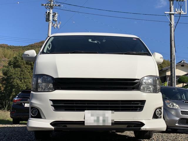 「トヨタ」「ハイエース」「ミニバン・ワンボックス」「愛媛県」の中古車5