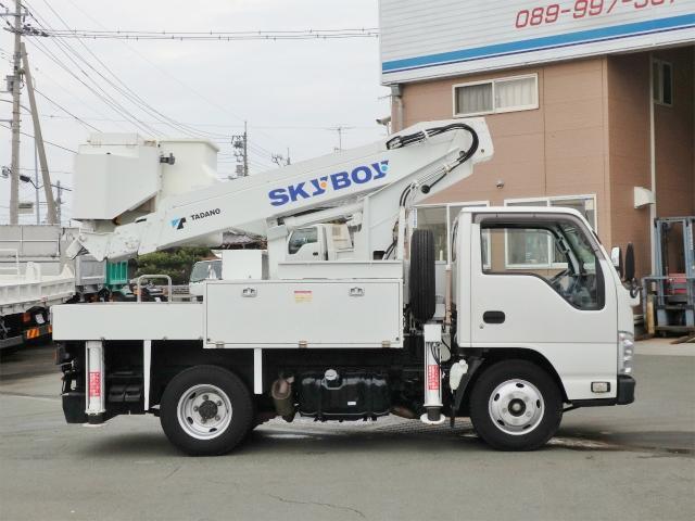 いすゞ エルフトラック 9.9m 高所作業車