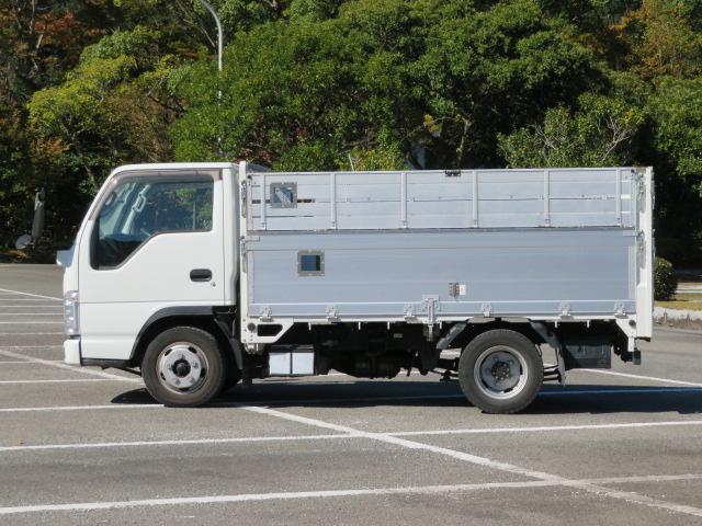 いすゞ エルフトラック 2t 全低床 10尺 アルミブロック