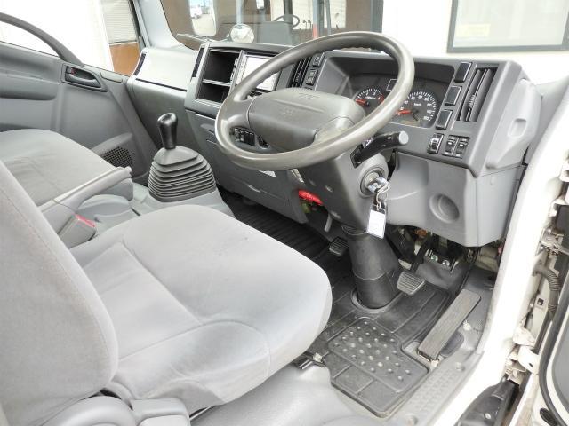 いすゞ エルフトラック 2tワイドロングアルミブロック