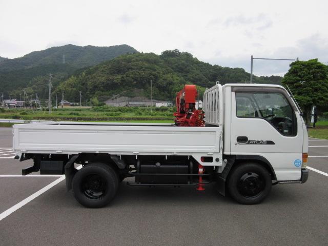 日産 アトラストラック 3t 荷台4段クレーン