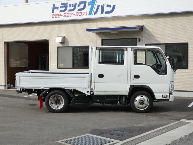 1.5t 4WD 全低床 Wキャブ(4枚目)