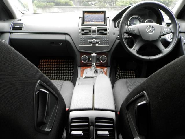 メルセデス・ベンツ M・ベンツ C200コンプレッサーワゴン エレガンス HDDナビ ETC