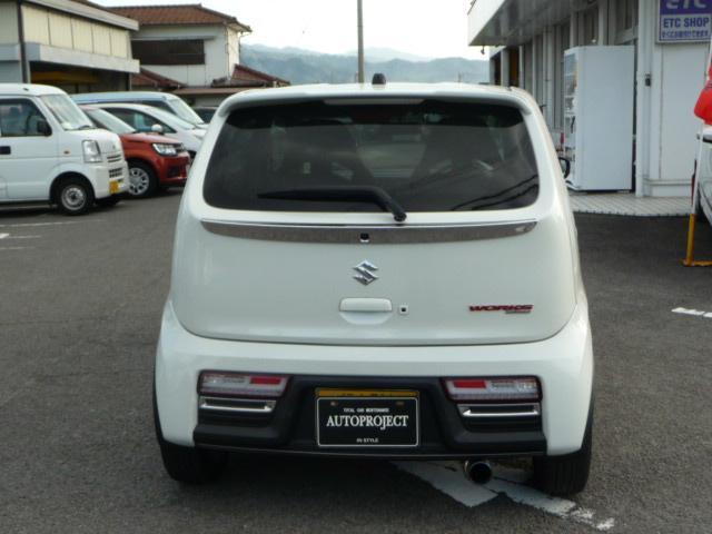 「スズキ」「アルトワークス」「軽自動車」「愛媛県」の中古車13