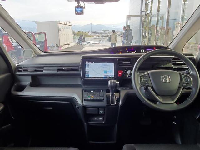 スパーダ・ホンダセンシング 純正 9インチ メモリーナビ/フリップダウンモニター/ヘッドランプ HID/ETC/EBD付ABS/横滑り防止装置/アイドリングストップ/TV/エアバッグ 運転席/エアバッグ 助手席(4枚目)