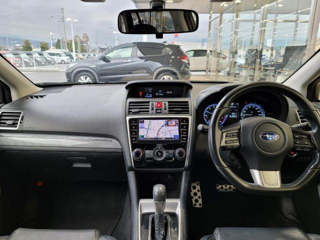1.6GT-Sアイサイト 社外 7インチ メモリーナビ/シート フルレザー/車線逸脱防止支援システム/ヘッドランプ LED/ETC/EBD付ABS/横滑り防止装置/アイドリングストップ/TV/エアバッグ 運転席 革シート(4枚目)