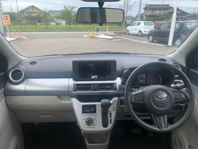 X EBD付ABS/横滑り防止装置/アイドリングストップ/エアバッグ 運転席/エアバッグ 助手席/パワーウインドウ/キーレスエントリー/オートエアコン/パワーステアリング/盗難防止システム/FF(4枚目)