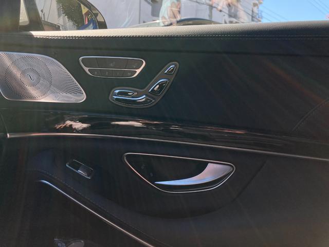 S550ロング AMGスポーツパッケージ パノラマスライディングルーフ レーダーセーフティーパッケージ 自動開閉トランクリッド 全席メモリー付パワーシート シータヒーター クロージングサポート 360度カメラ(26枚目)