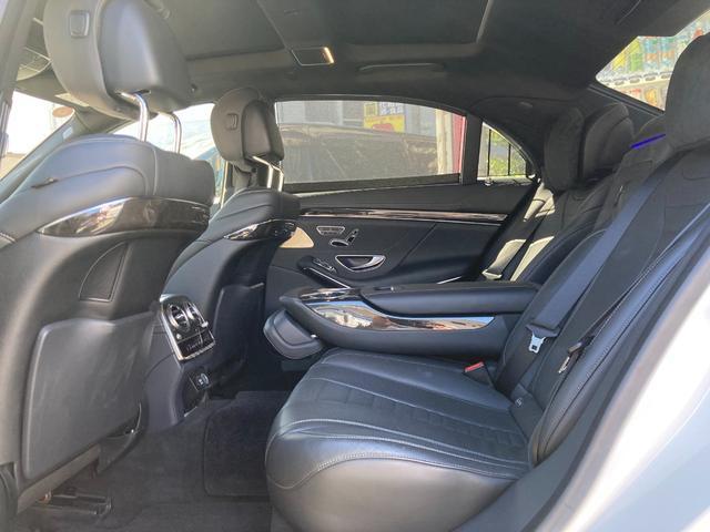 S550ロング AMGスポーツパッケージ パノラマスライディングルーフ レーダーセーフティーパッケージ 自動開閉トランクリッド 全席メモリー付パワーシート シータヒーター クロージングサポート 360度カメラ(33枚目)