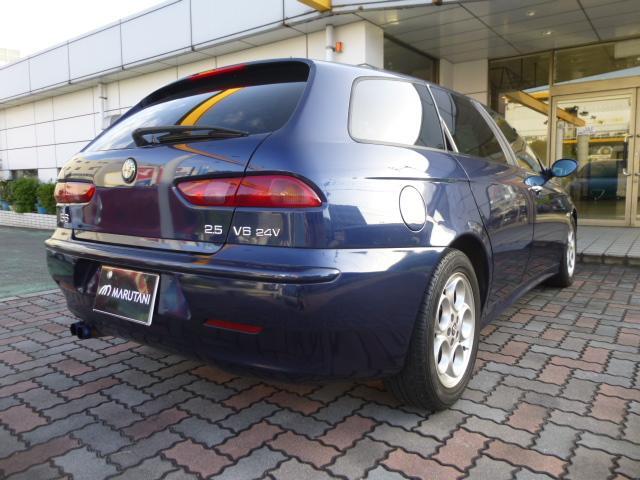 2.5 V6 24V Qシステム フェイズ2 チタンマフラー(7枚目)
