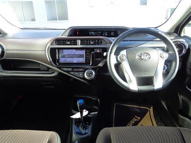 トヨタ アクア G フルセグナビ バックモニター LEDヘッドライト