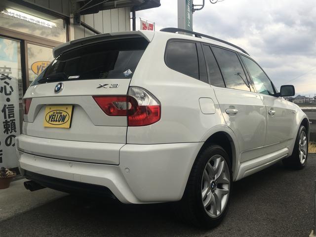 BMW BMW X3 2.5i Mスポーツパッケージ 4WD 本革パワーシート