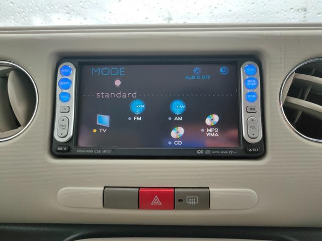 ココアプラスX スマートキー ルーフレール フォグランプ 純正HDDナビ 電動格納ミラー ヘッドライトレベライザー(20枚目)