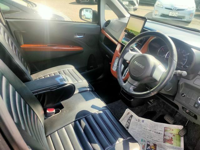 カスタム RS ナビ ターボ レザー調シートカバー ドライブレコーダー ETC Bluetooth再生 ブルートゥース エンジンプッシュスタート スマートキー(11枚目)