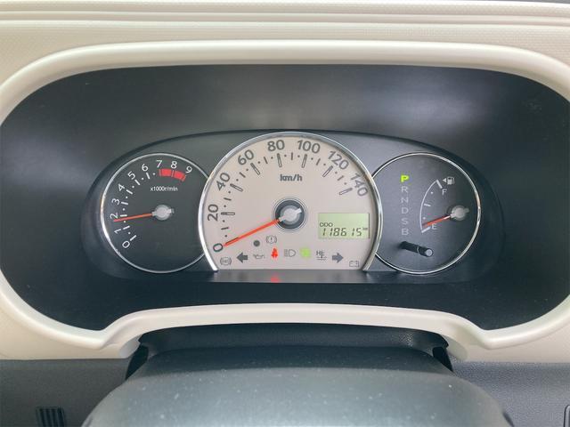 ココアプラスX ワンオーナー フルセグテレビ メモリーナビ スマートキー ベンチシート インパネオートマ ルームミラー型レーダー(16枚目)