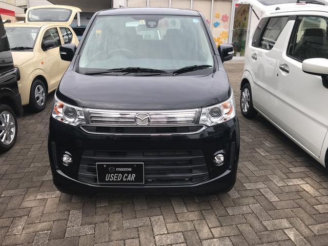 「マツダ」「フレアカスタムスタイル」「コンパクトカー」「愛媛県」の中古車2