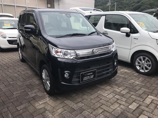 「マツダ」「フレアカスタムスタイル」「コンパクトカー」「愛媛県」の中古車3