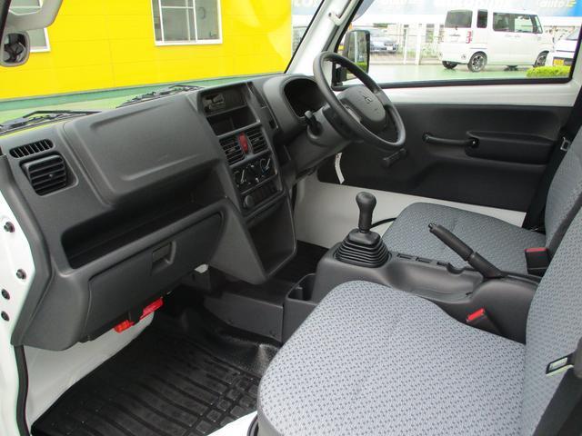 M 届出済未使用車 2WD 5速MT エアコン パワステ Wエアバック ABSブレ-キ AM/FMラジオ(時計付)(11枚目)