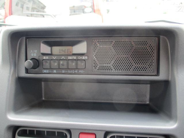 M 届出済未使用車 2WD 5速MT エアコン パワステ Wエアバック ABSブレ-キ AM/FMラジオ(時計付)(20枚目)