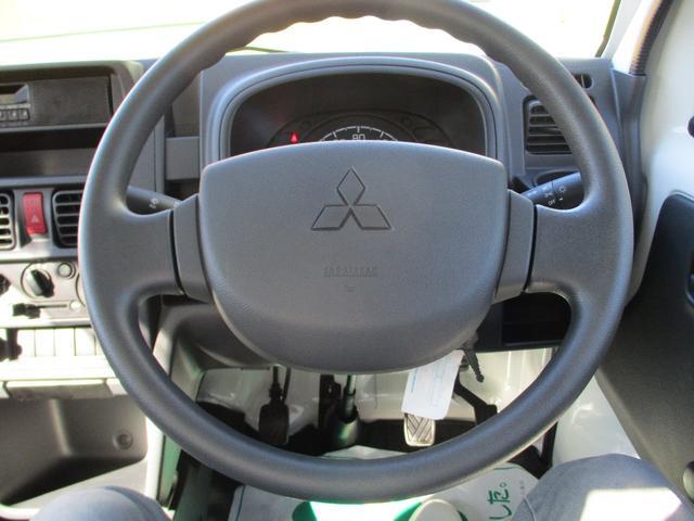 みのり 届出済未使用車 4WD 5速MT エアコン パワステ Wエアバック ABSブレ-キ AM/FMラジオ(時計付)  Hi/Lo切替 デフロック バックブザ- 作業灯 プロテクター テールゲートチェーン(21枚目)