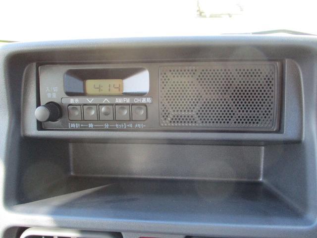みのり 届出済未使用車 4WD 5速MT エアコン パワステ Wエアバック ABSブレ-キ AM/FMラジオ(時計付)  Hi/Lo切替 デフロック バックブザ- 作業灯 プロテクター テールゲートチェーン(22枚目)