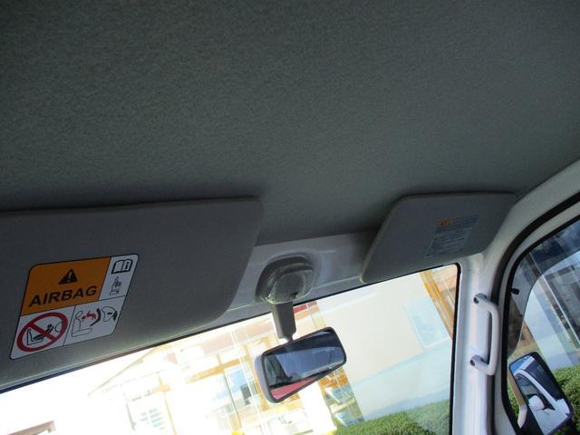 みのり 届出済未使用車 4WD 5速MT エアコン パワステ Wエアバック ABSブレ-キ AM/FMラジオ(時計付)  Hi/Lo切替 デフロック バックブザ- 作業灯 プロテクター テールゲートチェーン(29枚目)