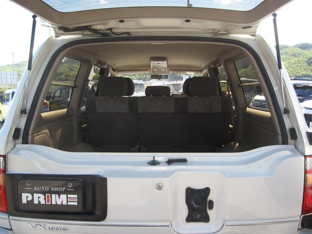 VXリミテッド ディーゼルターボ 4WD クルーズコントロール(20枚目)