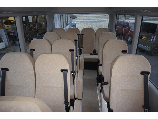 LXターボ 25人乗 ディーゼルターボ 社外ナビ バックカメラ 運転席レカロシート(16枚目)