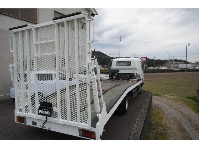 積載車 2t ディーゼル ポータブルナビ ETC ウインチリモコン付 リヤ塗装仕上げ(6枚目)