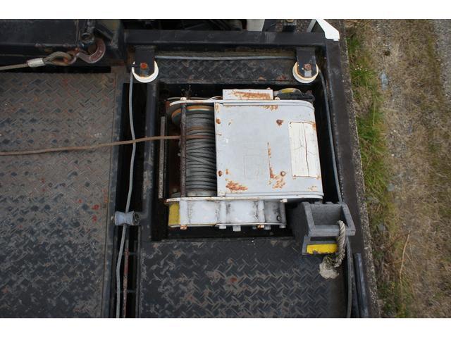 積載車 2t ディーゼル ポータブルナビ ETC ウインチリモコン付 リヤ塗装仕上げ(19枚目)
