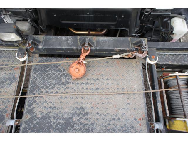 積載車 2t ディーゼル ポータブルナビ ETC ウインチリモコン付 リヤ塗装仕上げ(20枚目)