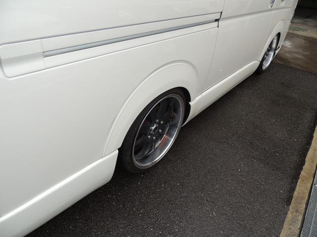 GL ファインテックツアラー ボルドエアサス ファブレス20インチ フリップダウン2個 カスタムカー 外パーツ(4枚目)